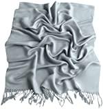 CJ Apparel Solid Color Design Shawl Pashmina Scarf Wrap Stole 80+ Colors Seconds