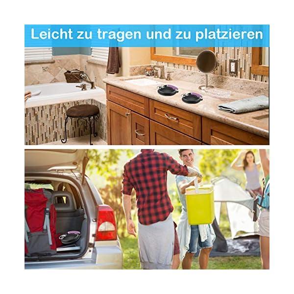 51bhieTJ0cL FHzytg 4 Stück Saugnapf Haken Extra Stark, Saugnapf Camping Extra Stark Saugnäpfe mit Haken, Saugnapf Saugnäpfe Camping…