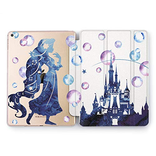 Wonder Wild Princes Castle iPad Case 9.7 Pro inch Mini 1 2 3 4 Air 2 10.5 12.9 2018 2017 Design 5th 6th Gen Clear Print Smart Hard Cover Fairy -