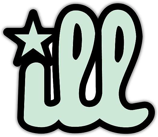 """Friday Slogan Car Bumper Sticker Decal 5/"""" x 4/"""""""