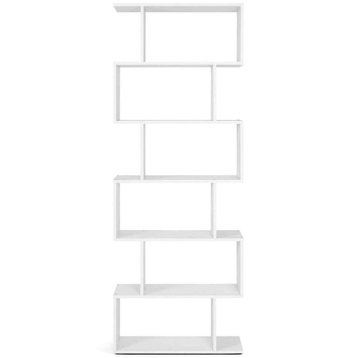 Dekoratives B/ücherregal modern und Design Ma/ße 192 x 70 x 23,5 cm COMIFORT Vier Ausf/ührungen