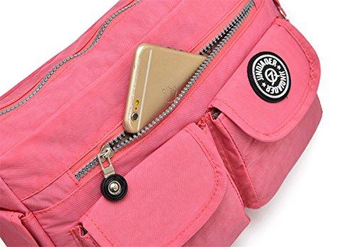 Nylon Cross Lightweight body U1 Handbags Multi Girls Bag amp; TianHengYi Shoulder Blue Sky Pockets Casual Small Purses pwtIxScCq