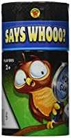 Says Whooo? Educational Board Game