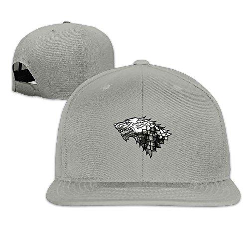 MaNeg Game Of Thrones (1) Unisex Fashion Cool Adjustable Snapback Baseball Cap Hat One Size Ash (Tiffany Nike)