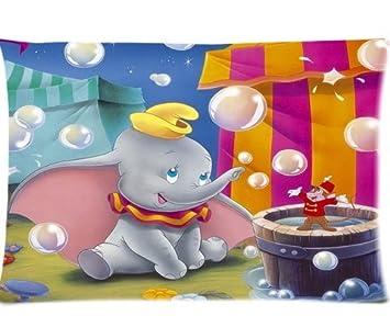 Amazon.com: De Dumbo fundas de almohada personalizado Funda ...