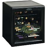 Danby DWC172BL 1.8-Cu.Ft. 17-Bottle Counter-Top Wine Cooler, Black