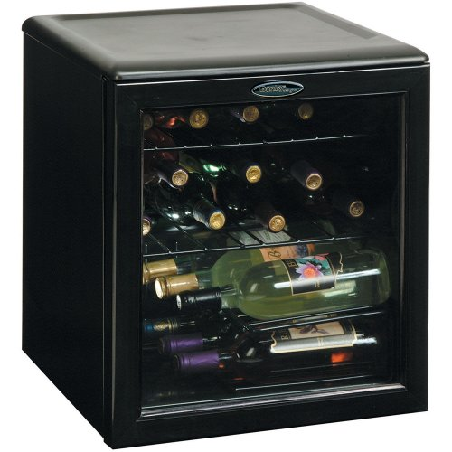 - Danby DWC172BL 1.8-Cu.Ft. 17-Bottle Counter-Top Wine Cooler, Black
