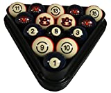 Wave 7 Technologies Auburn Tigers Billiard Ball Set - NUMBERED