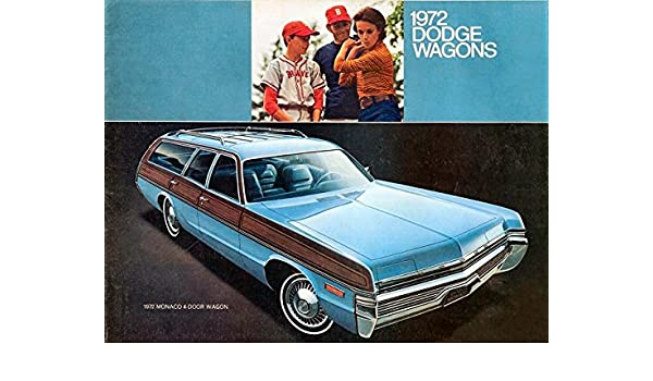 Amazon com : 1972 DODGE WAGONS: MONACO, POLARA, CORONET