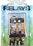 NTE R10-14A10-24 24VAC Ice-Cube Type 3PDT Relay