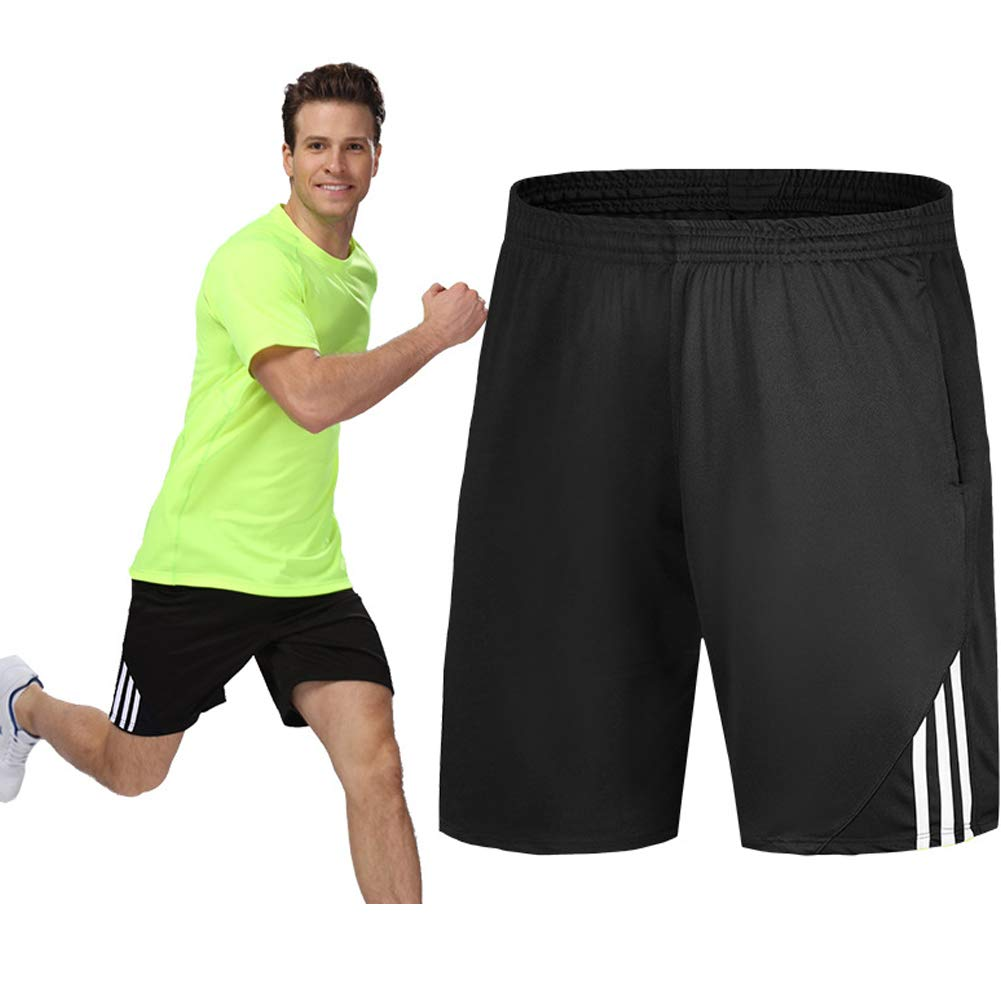 Mens Shorts Athletic Outdoor Sports Quick Dry Breathable Casual Gym Basketball Running Shorts with Pockets