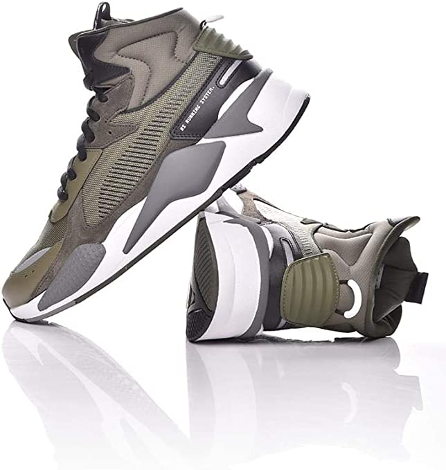 PUMA RS X Midtop Utility: Amazon.co.uk: Shoes & Bags