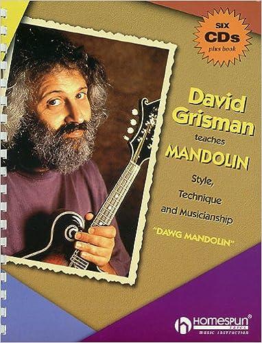 ;INSTALL; DAVID GRISMAN TEACHES MANDOLIN STYLE TECHNIQUE AND MUSICIANSHIP 6 CD PKG. partners VIAJAS start Linear Illinois atras color