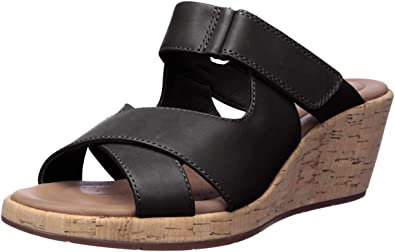 Shoes /& Jewelry Shoes  SZ Clarks Lynette Trudie Wedge Sandals Clothing