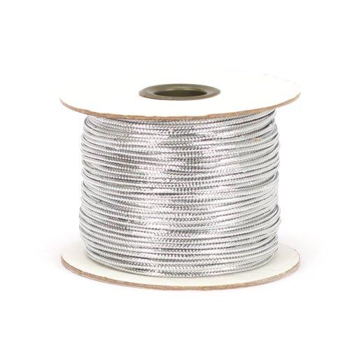 Berwick TC 20 100 Yard Spool Tinsel Non-Stretch Metallic Cord, Silver ()