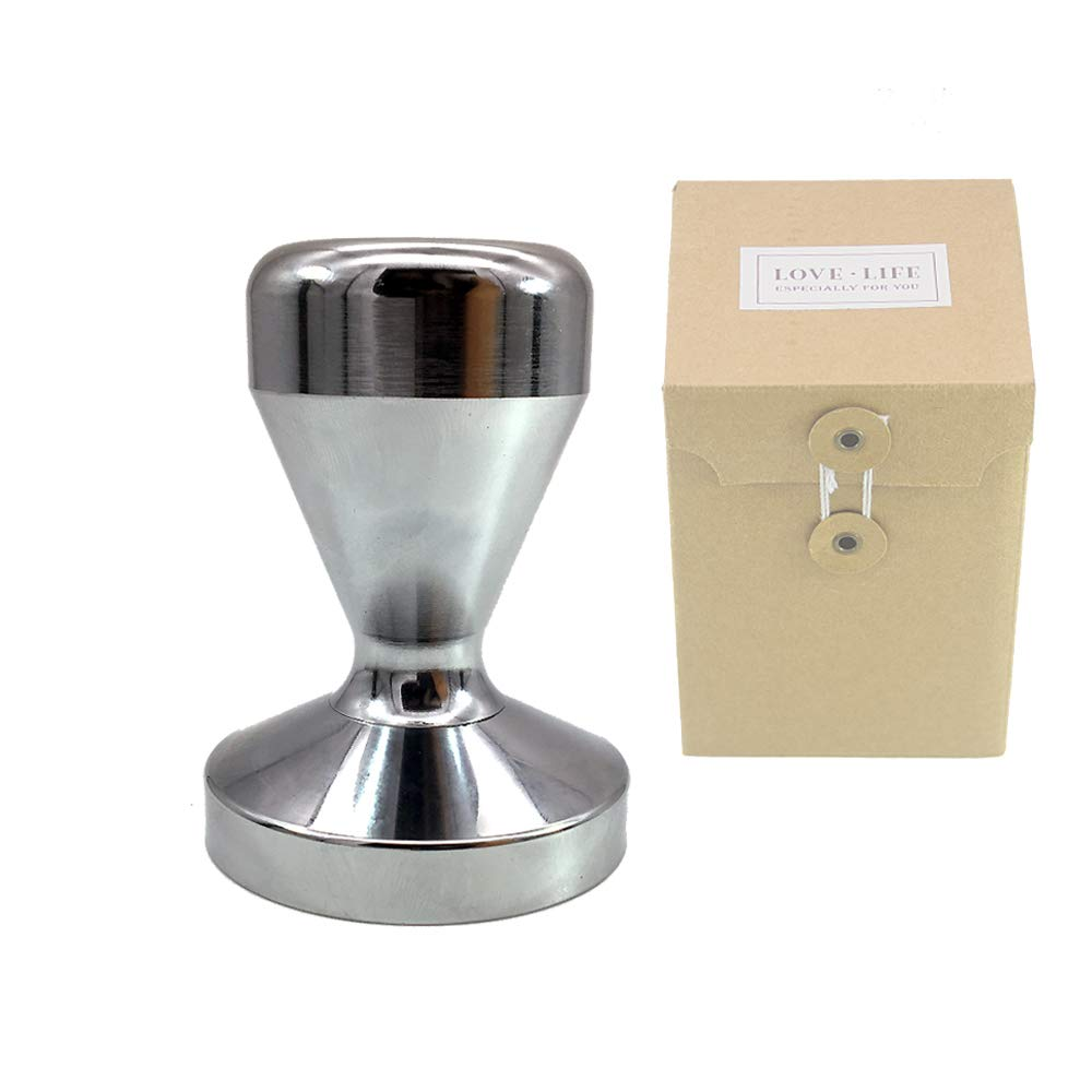 Coffee Tamper Elite Series - 58mm,Pressure Base Tampers Stainless Steel Espresso Tamper