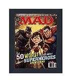 "MAD Magazine Display Frame - Complete with Acrylic, Backing, and Hardware - Showcase Any Magazine Sized 8"" x"