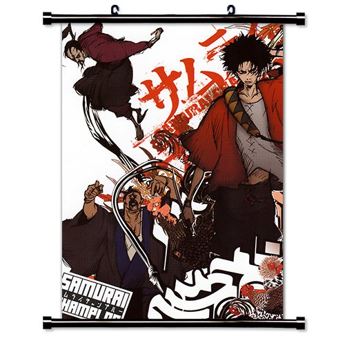 Samurai Champloo Anime Fabric Wall Scroll Poster  Inches