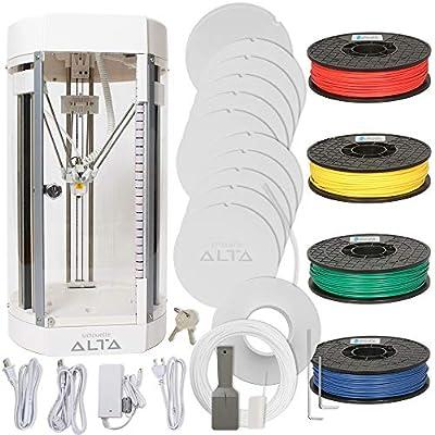 Silhouette Alta 3D Printer Bundle with 4 Color Filament Pack