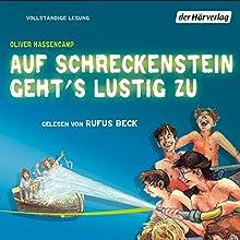 Auf Schreckenstein geht's lustig zu (Burg Schreckenstein 2) Hörbuch von Oliver Hassencamp Gesprochen von: Rufus Beck