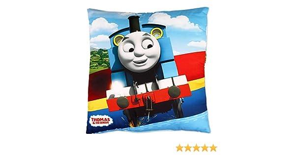 Almohada 40 x 40 cm Amortiguar Thomas y sus amigos Tom/ás el locomotor