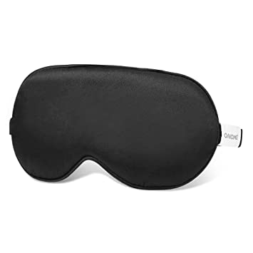 Oakome Máscara Seda para Dormir - Antifaz Anti-luz Suave 3D Máscara de Ojos Cómoda con Banda Elástica Ajustable para Mujeres Hombres Niños Dormir Viajes ...