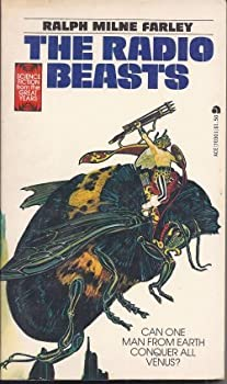 The Radio Beasts by Ralph Milne Farley science fiction and fantasy book and audiobook reviews