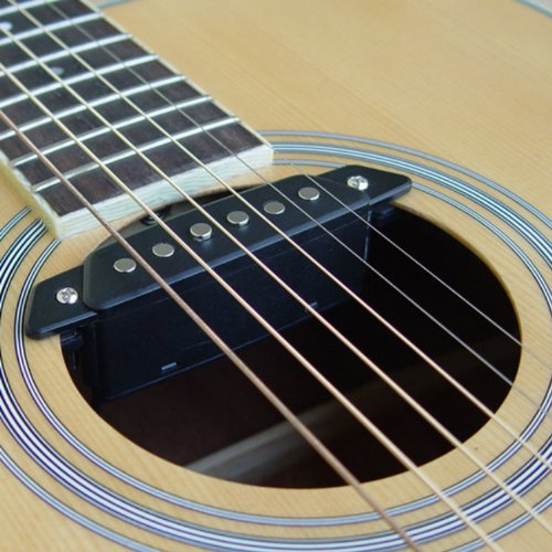 pickups pickup covers sh 85 acoustic guitar soundhole with power jack passive 634458176316 ebay. Black Bedroom Furniture Sets. Home Design Ideas