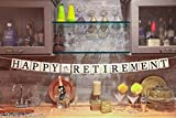 """""""Happy Retirement"""" Banner - Retirement Party Supplies, Gifts and Decorations by Sterling James Company"""