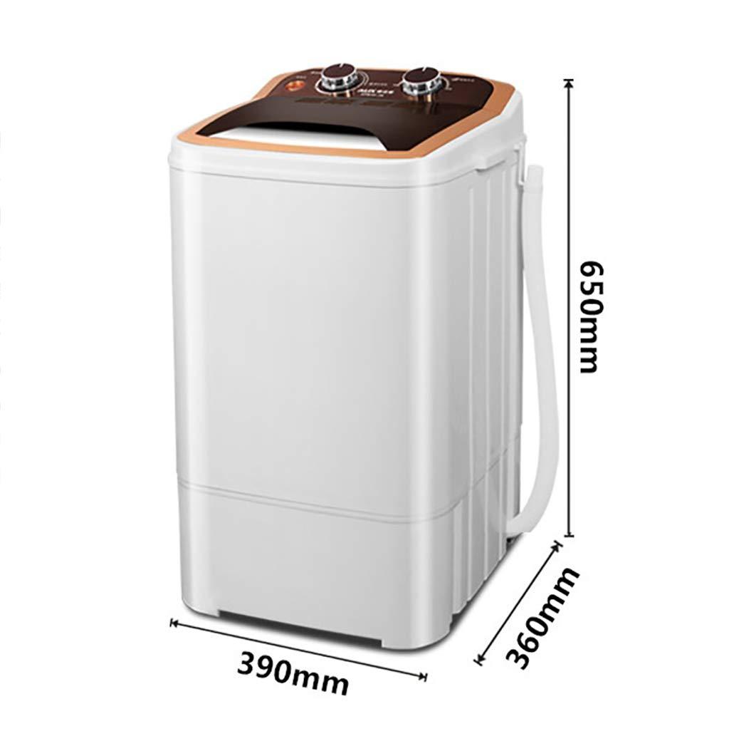 Mini Waschmaschine Kinder Kleine Tragbare Waschmaschine Halbautomatische Single Tub W/äScherei Mit Timer Leise Betrieb Haushaltsw/äScher Waschkapazit/äT Von 3KG//6.6Lbs