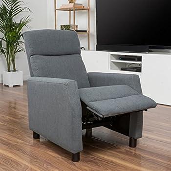 Amazon Com Great Deal Furniture Tahiry Grey Fabric