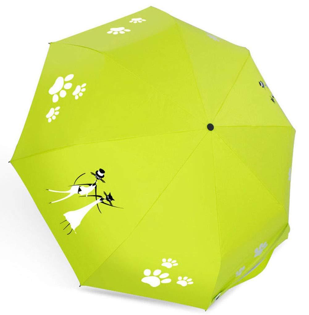 MMTC 傘 旅行用 傘 折りたたみ傘 水の色が変わる 自動傘 防風傘 レディース シャワー傘  2 B07MHMG5L9