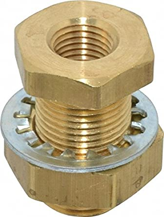 Anchor Brass Coupling FNPT 1//4 In