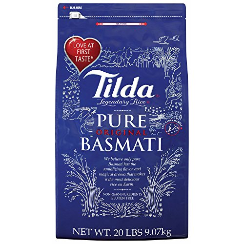 Tilda Basmati Rice, 20 lbs. (pack of 2) by Tilda