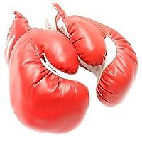 1 par de guantes nuevos de boxeo /punzonado y entrenamiento físico: rojo - 10 oz