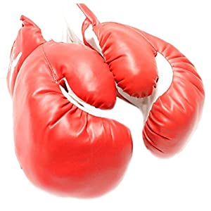 1 Pair Red 12oz Boxing Punching Gloves Great Exercise