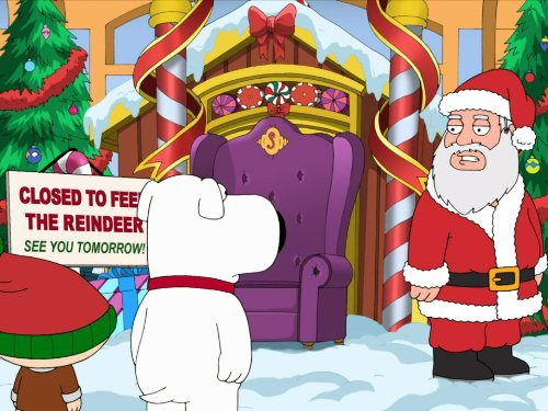 Road to the North Pole (Family Guy Time Travel Stewie And Brian)