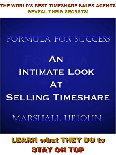 Formula For Success in Timeshare Sales