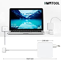Humtool Adaptador de Corriente 60W MagSafe 2 para MacBook Pro Forma de T para Macbook Pro Retina 13