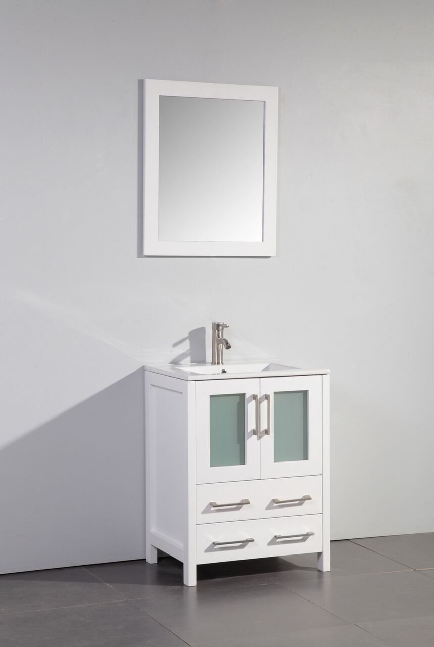 Legion Furniture WA7924W Bathroom vanity, 24 , white
