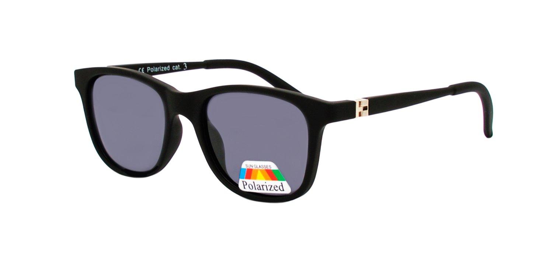 Sonnenbrille Rainbow® Wayfarer für Kinder / Kindersonnenbrille 6-10 Yahren / Polarisierte Gläser 3286 (Grün Revo 3286C) TYF8oTG