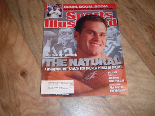 Sports Illustrated, April 15, 2002 issue:Tom Brady Super Bowl MVP