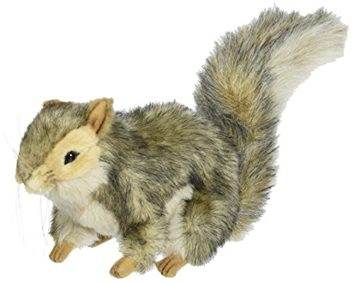 Hansa Sitting Squirrel Plush, Gray (Sitting Life)