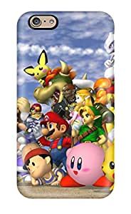 Lennie P. Dallas's Shop Hot High Grade Flexible Tpu Case For Iphone 6 - Smash Brothers