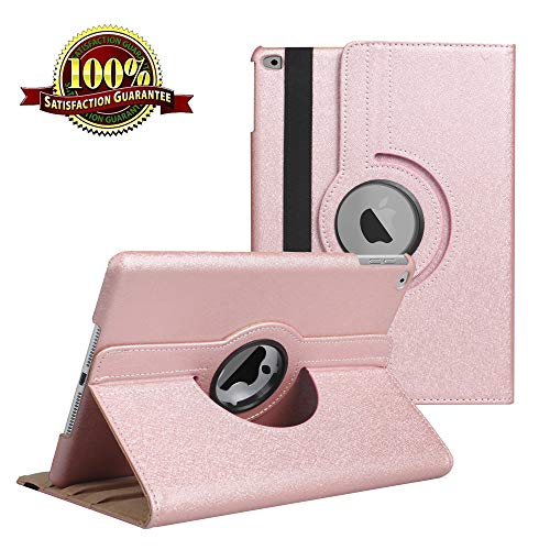 iPad 9.7 inch Case New 2018 2017/ iPad Air Case - 360 Degree Rotating Stand Protective Cover Smart Case with Auto Sleep/Wake for Apple iPad 9.7