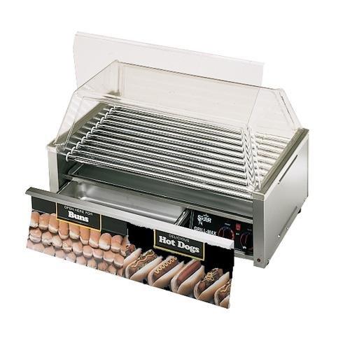 Star Manufacturing 50CBD  Hot Dog Grill w/ Drawer, Chrome Rollers, 50-Dog/ 48-Bun 50CBD