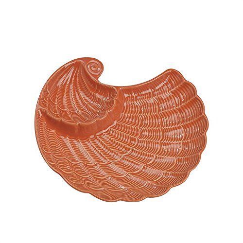 Andrea By Sadek Nautilus Chip & Dip Dish One Size
