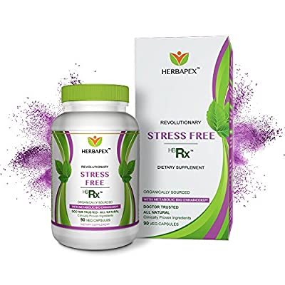HERBAPEX: Stress Free HBRX - Doctor Trusted - Scientifically Engineered to Reduce Anxiety and Stress