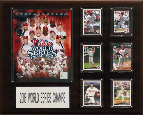 - MLB Philadelphia Phillies 2008 World Series Champions Plaque
