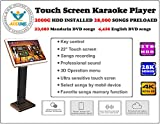 Touch Screen All-In-One Karaoke Player Free Cloud download 2000G HDD 28K Songs Mandarin+ English Select Songs Both Via Touch Screen And Mobile Device